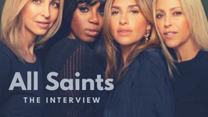 Music:  I chatted with All Saints ahead of their UK tour