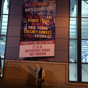 Review: Stepback 80's Concert - Motorpoint Arena Nottingham.