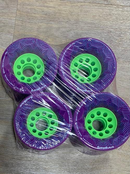 Orangatang 85MM Cruiser Wheel (Purple)