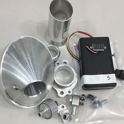 Power Bundle with TPS Tuner / Silver End Cap for 2017-19 FE -S 250 / 350