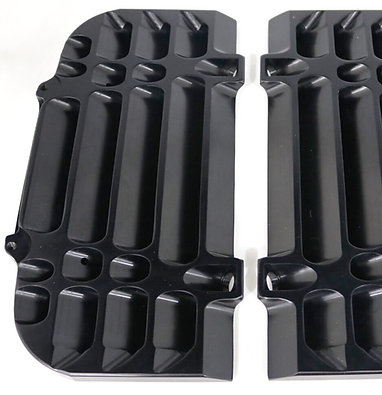 Radiator Guards for 2017-21 EXC-F /XC-W in Black