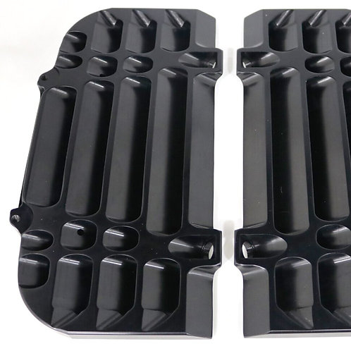 Radiator Guards for 2020-21 Gas Gas inBlack