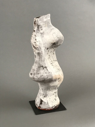 stoneware, slip, oxides, steel