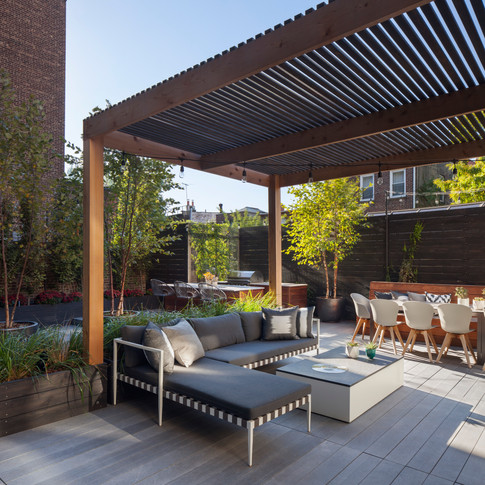 ROOFTOP LOUNGE DESIGN
