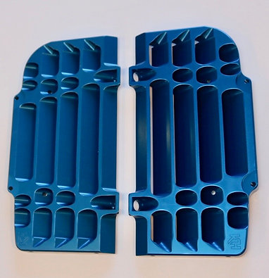 Radiator Guards for 2017-20 EXC-F / XCF-W in Blue
