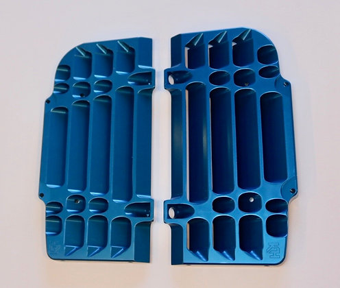 Radiator Guards for 2017-20 FE / FE-S in Blue