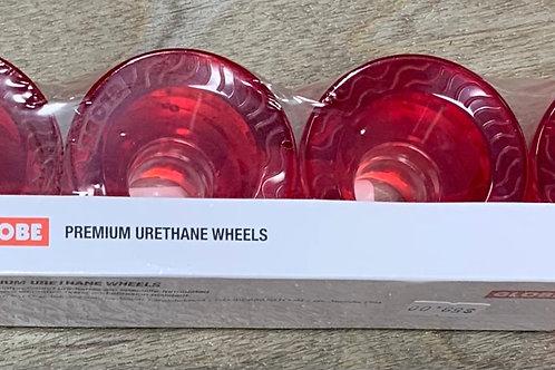 Globe 58MM Cruiser Retro Flex Wheels (Red)