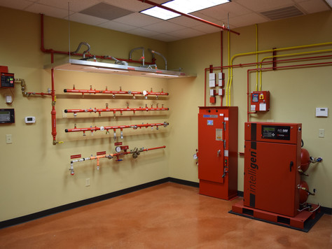 Fire Pump Controller with Nitrogen System