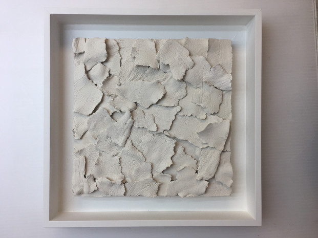 paper clay, wood board