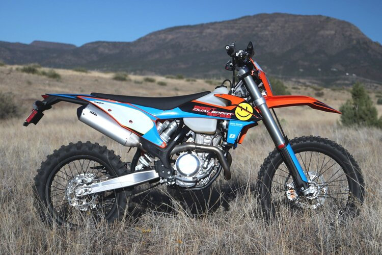 2020 KTM 350 - Husky 350 bike build