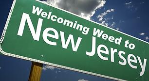New Jersey Legalizes Marijuana Sign