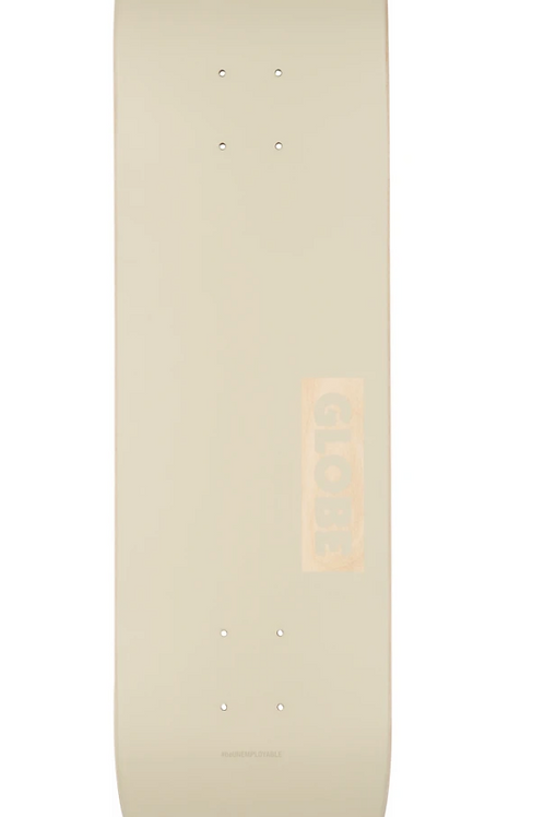 Globe Solid Deck - Off White