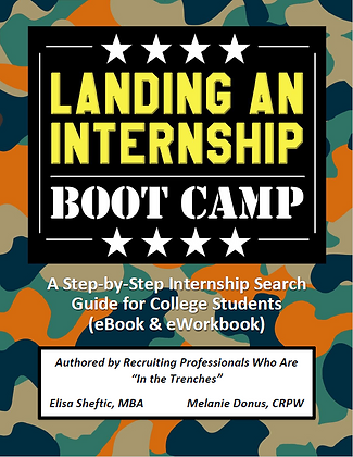 Landing an Internship Bootcamp eBook & eWorkbook