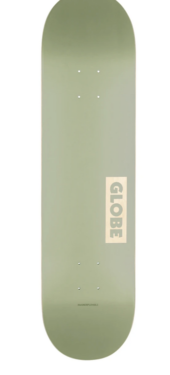 Globe Solid Deck - Olive