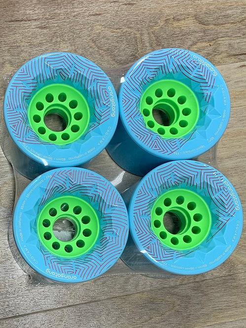 Orangatang 85MM Cruiser Wheel (Light Blue)