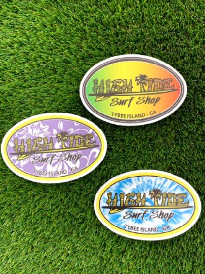 Oval Shop Sticker