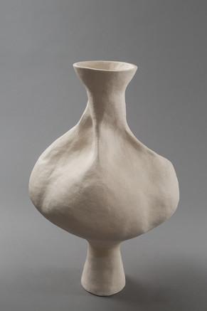 stoneware, acrylic paint
