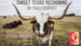 SWEET TEXAS RECKONING POSTER LONGHORNS.j