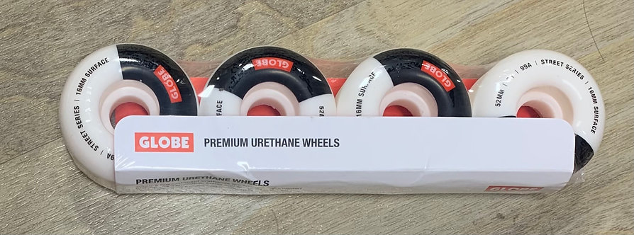 Globe 52MM Street Wheels (White)