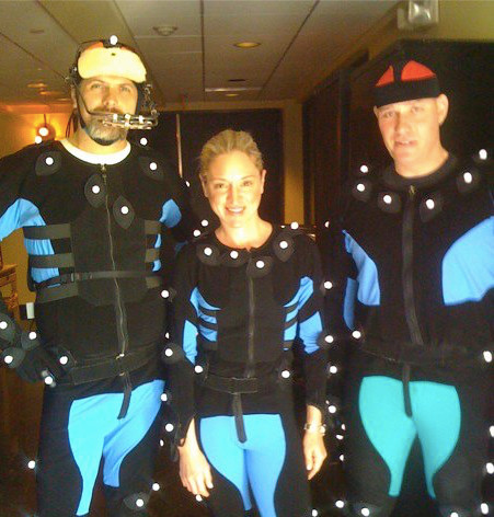 Motion Capture Suits for Grand Theft Aut
