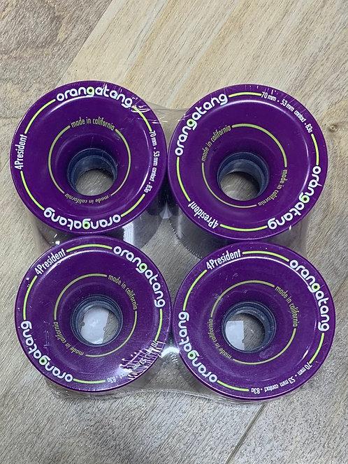 Orangatang 65MM Fat Free Cruiser Wheel