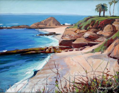 Haystack Rock - Laguna Beach
