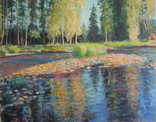 Early Light Alturas Creek