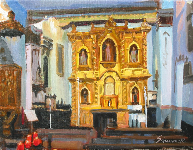 Altar - Serra Chapel