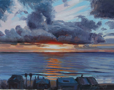 Sunset Strands Bluff