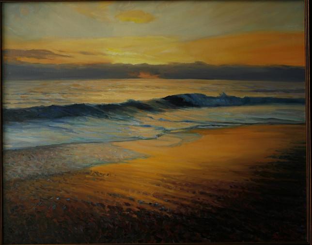 Beach Road Sunset
