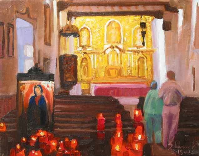 Votive Candles - Serra Chapel