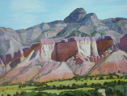 Ghost Ranch Contrast