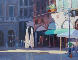 Piazza della Erbe - Verona