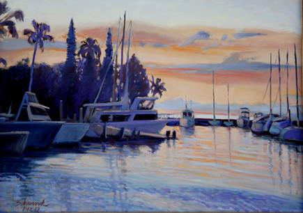 Lahaina Harbor Sunrise