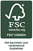 Logo FSC met licentie kleur donker groen