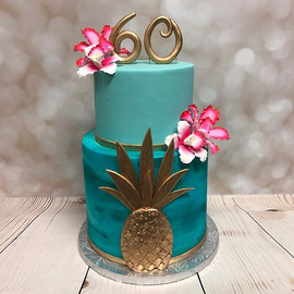 A beautiful cake made for a very special