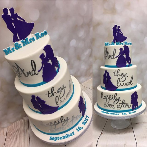 We are IN LOVE with this Disney themed w