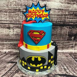 Just a little mid week superhero cake! #