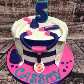 Doc McStuffins themed cake! #birthdays #