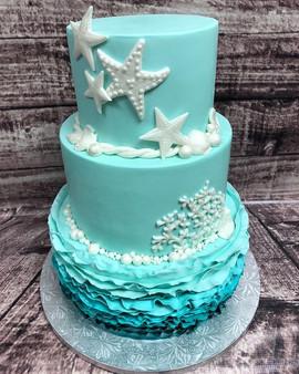 What a pretty cake! #bakery #cake #bakem
