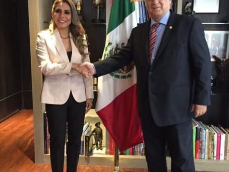 Evelyn Salgado gestiona ampliación de la oferta vacacional en Guerrero