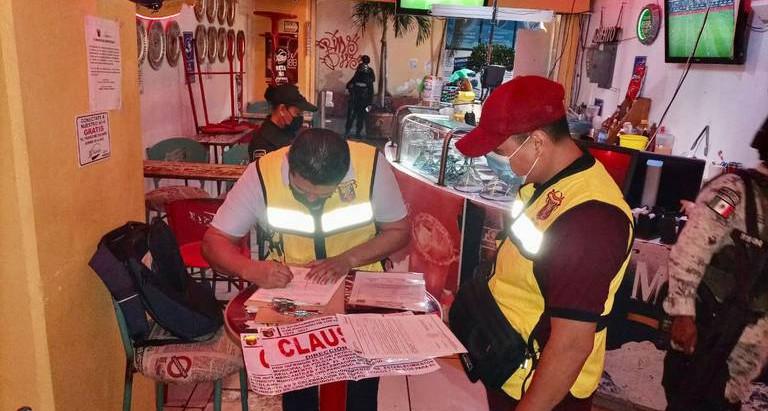 En Chilpancingo clausuran cinco  bares por incumplimiento de medidas sanitarias