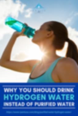 IMAGE DRINK HYDROGEN INSTEAD OF PURE WAT