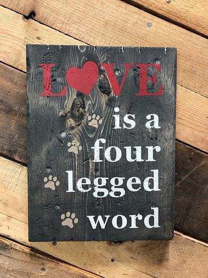 4 legged word