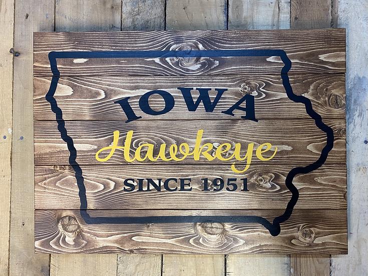 Iowa Hawkeye Since_____