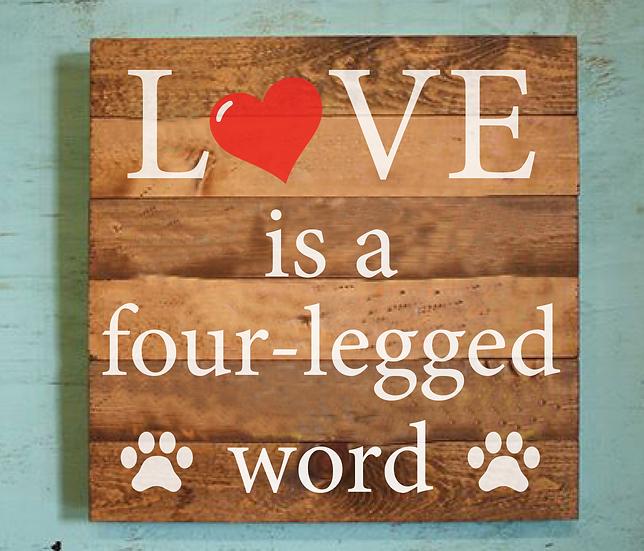 Four Legged Word