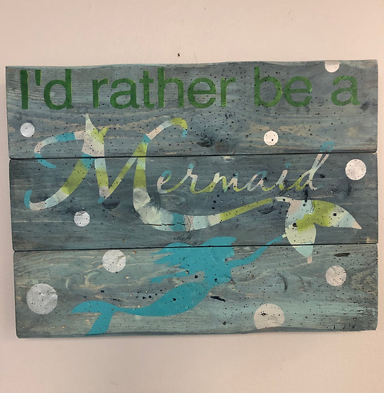 Rather Be A Mermaid