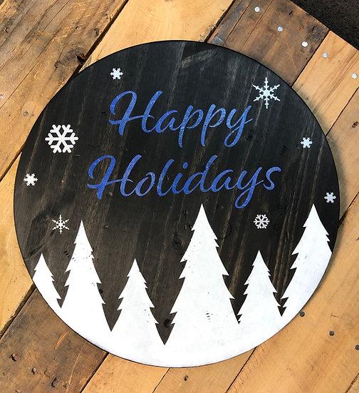 Happy Holidays Round