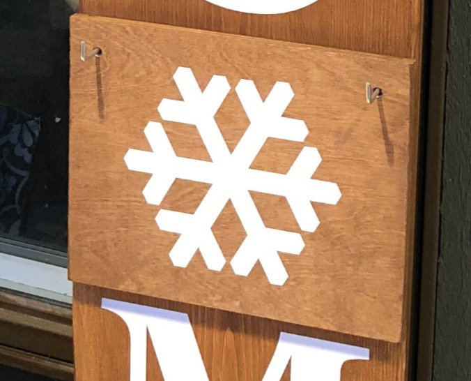 Seasons for Welcome Porch Sign