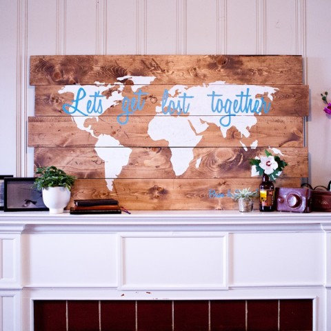 World Map Quote
